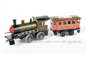 21 locomotora con vagón
